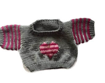 Teddy Bear Jumper | Teddy Bear Knitted Sweater