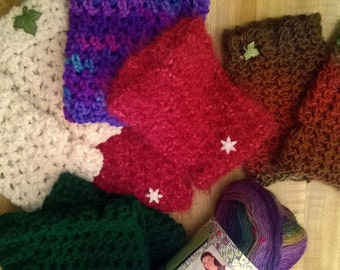 Comfy Cozy Fingerless Gloves Hand Warmers Choose Your Color