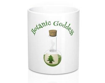 Funny Botanist  Herbalist Botanic Goddess Coffee Mug 11Oz