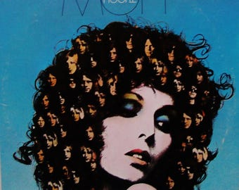 "MOTT The HOOPLE Vinyl Record LP Vintage 1974 ""The Hoople"" British Glam Rock Ian Hunter Columbia Label All the Young Dudes Orig Press Exc/Vg+"