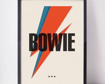 bowie   poster   a2