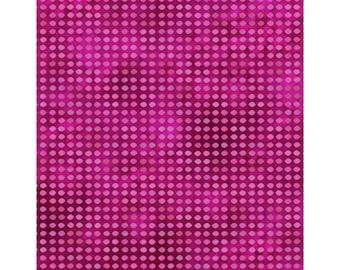 Dit Dot - Magenta (8AH-25) In The Beginning Fabric Yardage