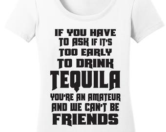 Tequila Shirt / Tequila / Funny Drinking Shirt / Girls Weekend Shirt / Girls Night Out Shirt / Gift for Her / Drinking Shirt / Graphic Shirt