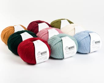 Superwash Merino Wool - DeStash Yarn