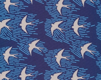 Cloud 9 Fabrics - Whitehaven Collection - Whitehaven in Navy Organic