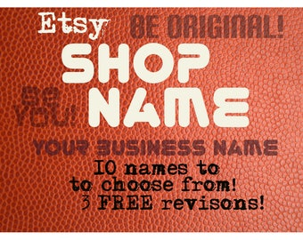 Naming Etsy Shop Business Company Startup New Product Name Brainstorming Domain Niche Marketing Analysis Etsy SEO Help Branding Digital file