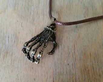 Men's 'Terminator Hand' Pendant