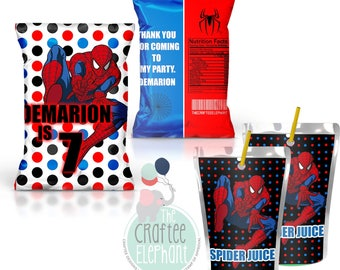 Spider-Man Chip Bags