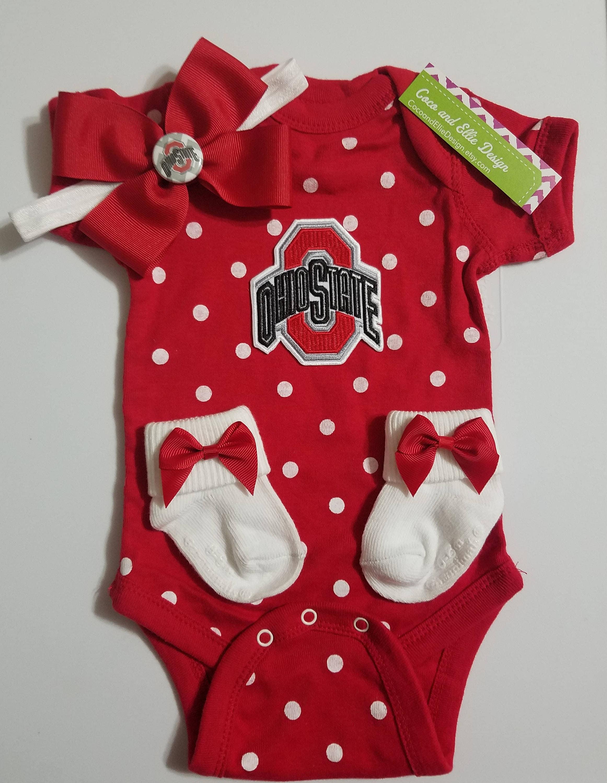 ohio state baby outfit Ohio state newborn buckeye baby ohio