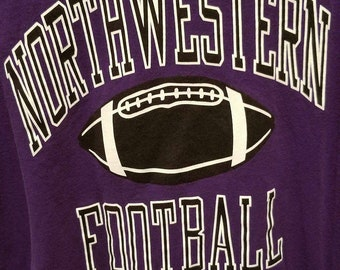 Vintage Northwestern University Football Shirt