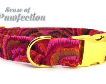 Sarafine Pink Dog Collar