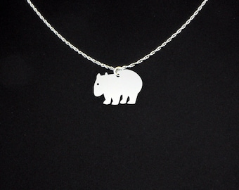 Wombat Necklace - Wombat Jewelry - Wombat Gift