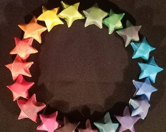 Paper Rainbow Stars