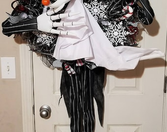 Nightmare Before Christmas, Jack Skellington,  Zero Wreath, Christmas wreath