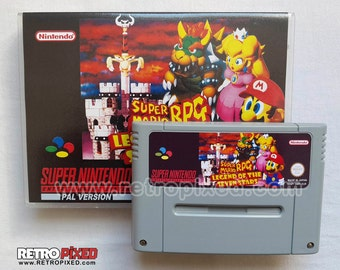 Super Mario RPG - PAL (SNES Reproduction) (English, French, German)