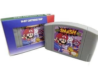 Soap Super Smash Bros Parody, Smash bros, smash brothers, super mario, n64, nintendo 64, Super Mario, super mario odyssey, n64 cartridge