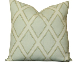 Sarah Richardson Brookhaven Pillow in Celadon