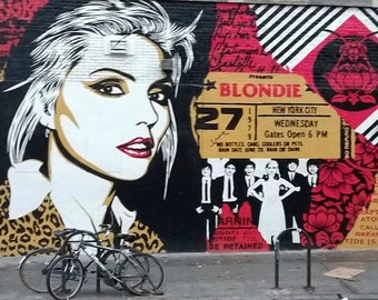 "Happy Birthday Greeting Card, Blondie, east village, from ""Views From The Street"" Collection"