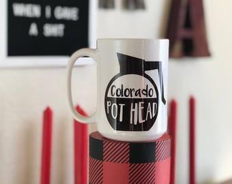 Colorado Pot Head Coffee Mug