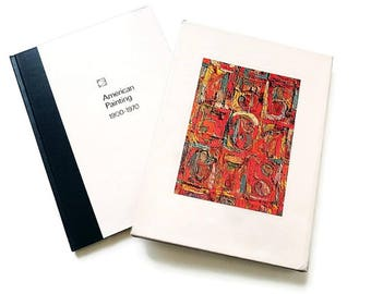 American Art 1900 - 1970/ Reference and Photo Print Book/ Large Collectable Coffee Table Art Book /Pollock/ Warhol and More
