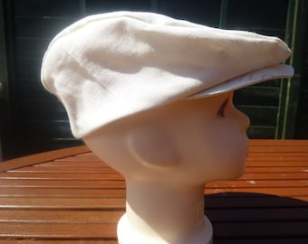 Children's linen summer cap
