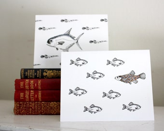Note card set - All the Fish Under the Sea