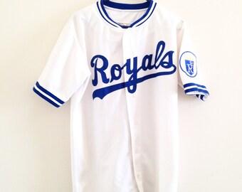 Kansas City Royals Ravens Knit Baseball Jersey