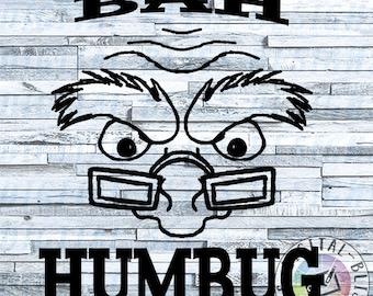 SVG - Bah Humbug