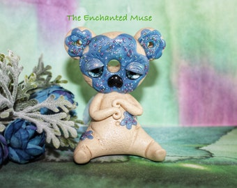 Enchanted Blue Donut Faerie
