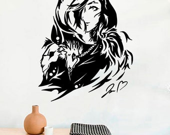 Best Decals Popular Games Vinyl Wall Decals League of Legends Heroes Gamer Play Lol Vinyl Decor Stickers MK3864