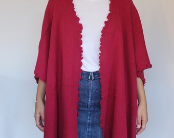 READY TO SHIP - 100% Alpaca Cape