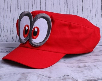 Super Mario Odyssey Cappy Hat - For adults or kids