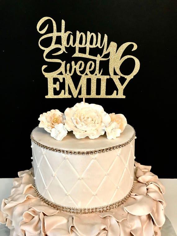 Unique Sweet 16 Birthday Cake Hj71 Advancedmassagebysara