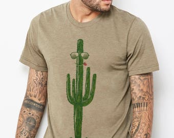 Cool as a Cactus : Adult's Unisex T-Shirt