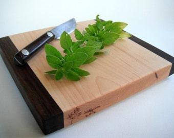reclaimed hardwoods small herd cutting board