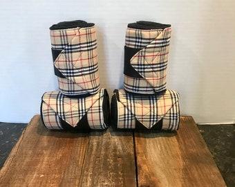 Polo Wraps/Stable Wraps, Set of 2 or 4-Burberry (READY TO SHIP)