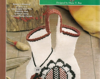 Plastic Canvas Craft Projects Patterns Indian Wedding Vase Plastic Canvas Patterns The Needlecraft Shop