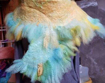 Felted Romney Scarf