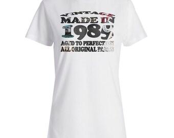 INNOGLEN Vintage Original Made in 1985 Ladies T-shirt u709f