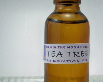 Tea Tree Essential Oil - Pure Undiluted Melaleuca for Diffusers , Ointments and Balms - Soap Making Supplies
