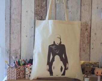 "Tote bag ""DARK SWAN"" - OUAT / Once Upon A Time / Dark Swan / Emma Swan / Jennifer Morrison"