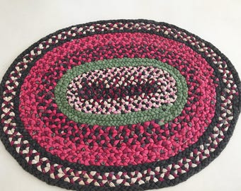 Braided rug tabletop size