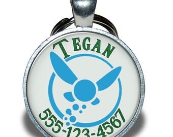Pet ID Tag - Zelda Navi *Inspired* - Dog tag, Cat Tag, Pet Tag
