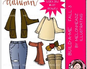 Build-A-Me clip art - Fall 3 - Mini