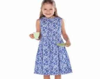 Children's Corner Sewing Pattern Louise Dress Sizes 1-5