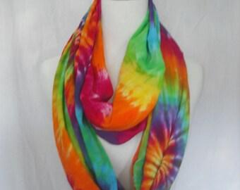 Tie Dye Infinity Circular Scarf | Wrap