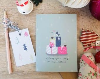 Winter Wonderland - Presents Galore Christmas Card