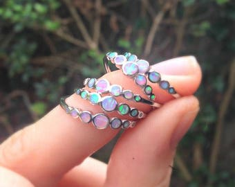 Unicorn Tears Opal Ring