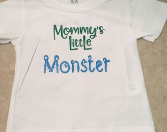 6 month Little Monster T-Shirt