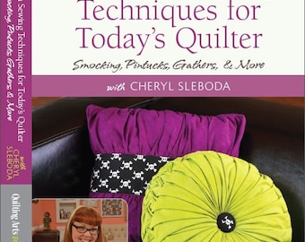 Heirloom Sewing Techniques for Today's Quilter DVD by Cheryl Sleboda